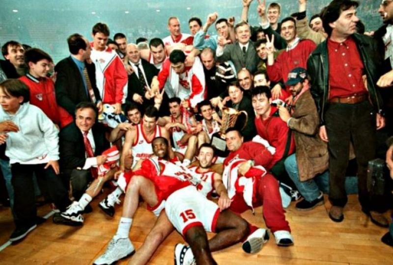 Σαν σήμερα: Το πρώτο Ευρωπαϊκό του Ολυμπιακού πριν 24 χρόνια (vid)
